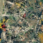 Jackson Pollock &quot;Sense ttol&quot;, c. 1949 Fondation Beyeler, Riehen / Basilea